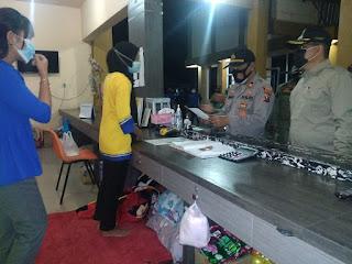 Sepasang Tamu Hotel GGM Terjaring Operasi  Cipta Kondisi