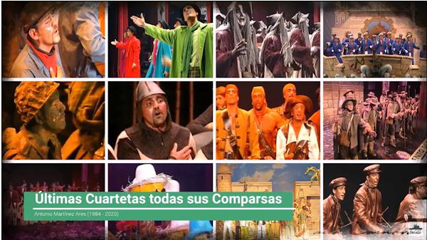 ✨Últimas Cuartetas de los Popurris de ⚫TODAS⚫ las Comparsas de 🥇Antonio Martinez Ares (1984-2020)