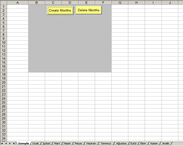 vba create sheet for each month