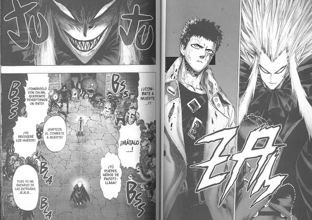 Reseña de One Punch-Man (ワンパンマン) vol. 22 de One y Yusuke Murata, Ivréa
