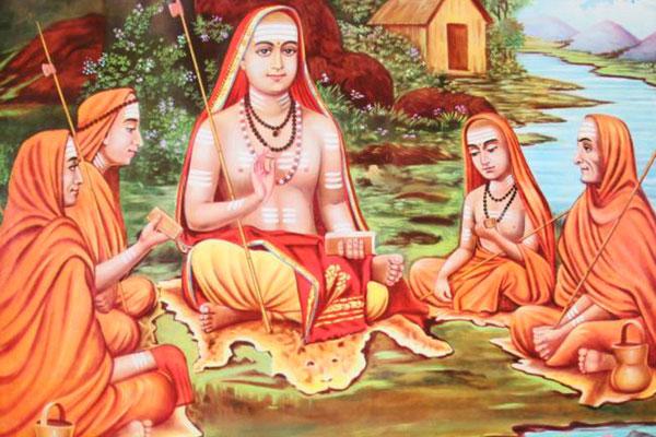 দশনামী সম্প্রদায়, চতুর্মঠ, দশনামী সম্প্রদায় কি কি, ভগবান শংকরাচার্য, শংকরাচার্য