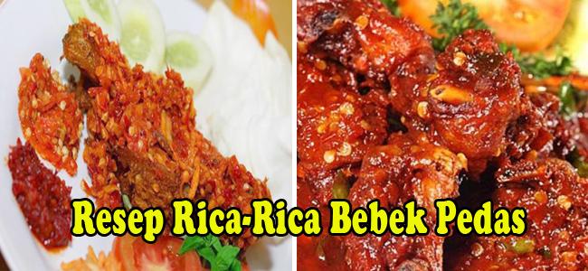 Resep Rica-Rica Bebek Pedas