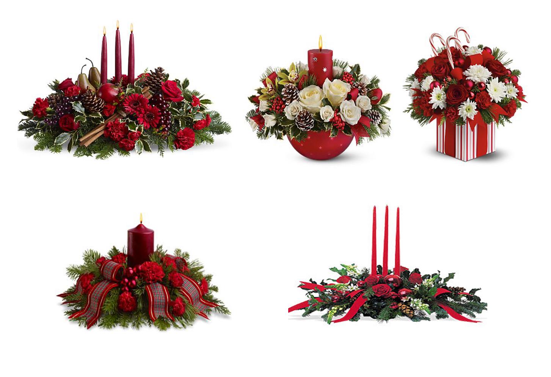 Flores Manolita Arreglo Floral Para Navidad