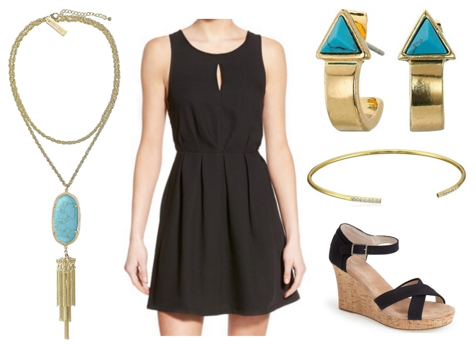 borrowed heaven: Turquoise & Black: Early Spring Wedding Wear