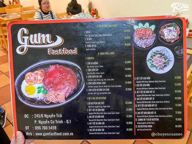 Gum Fastfood Quận 1