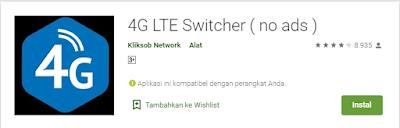 Aplikasi untuk mengunci jaringan 4G di Hp Android