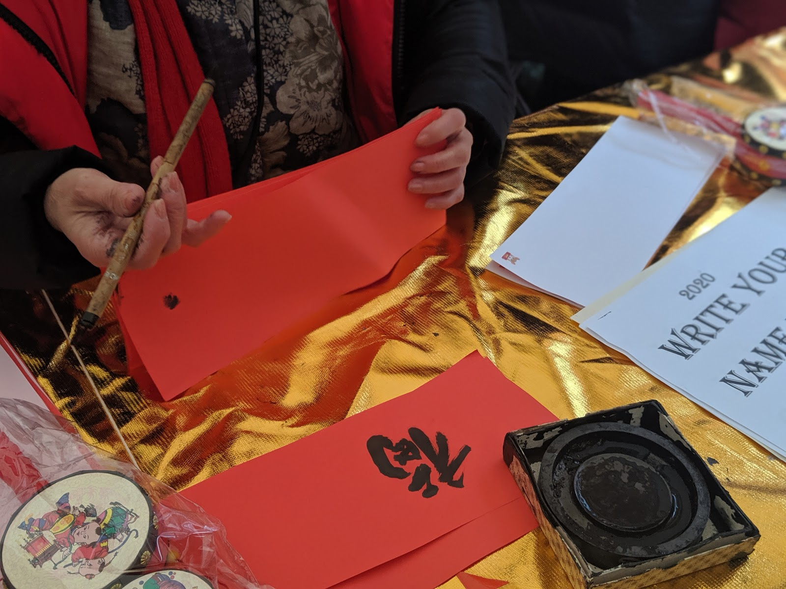 10 Reasons to Celebrate Chinese New Year in Newcastle  - have your name written in chinese