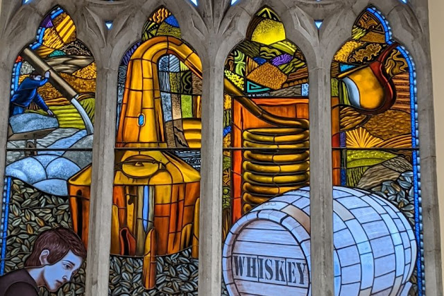 Dublin in a Day: Pearse Lyons Whiskey Distillery Stained Glass