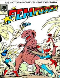 Read Femforce comic online