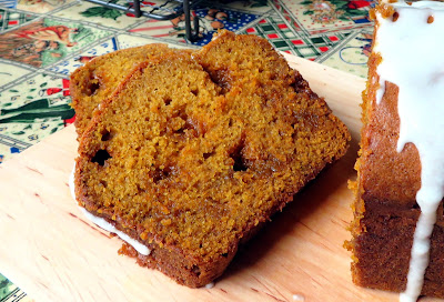 Butterscotch Pumpkin Bread