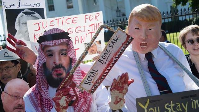 Piden a EEUU embargos de armas y de crudo saudí por caso Khashoggi
