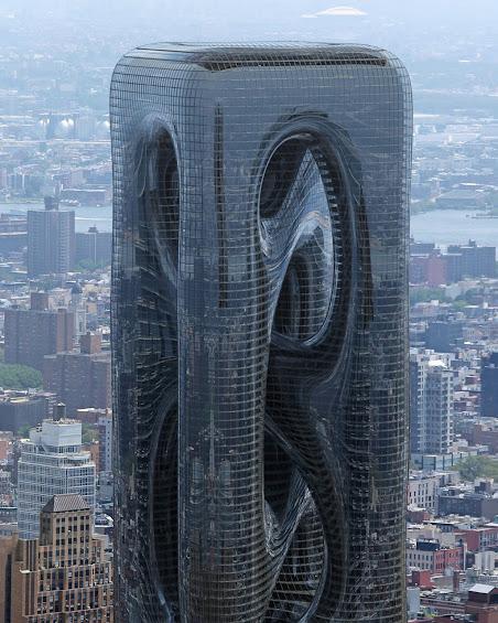 Cận cảnh thiết kế tòa nhà hình chữ U úp ngược