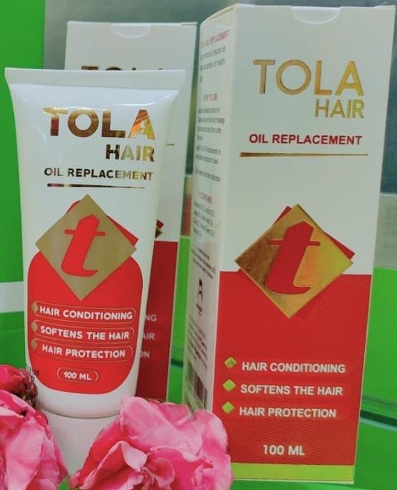 """""""تولا بديل الزيت""""لعلاج الشعر التالف والهايش والمتقصف""""Tola Hair Oil Replacement"""""""