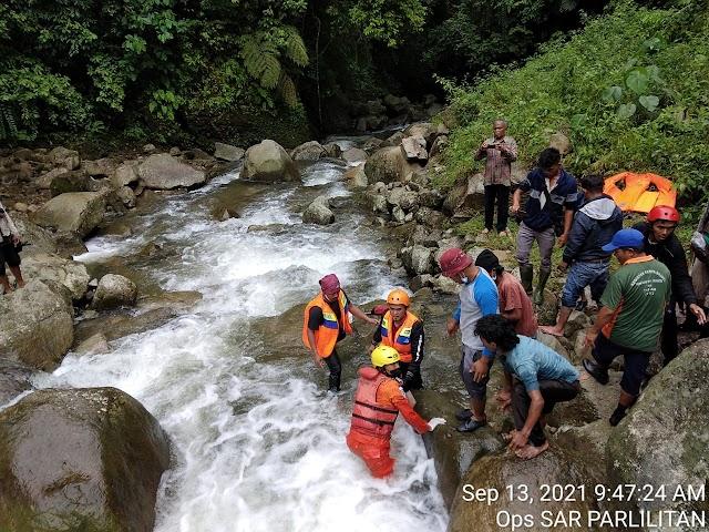 Terseret Arus Sungai Sirahar Humbahas, Mahasiswi UNIMED Ditemukan Meninggal Dunia