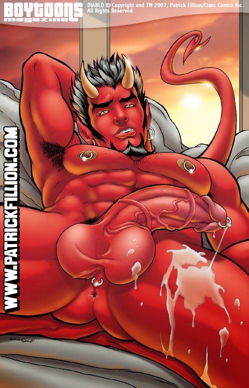 Hot male demons nude remarkable