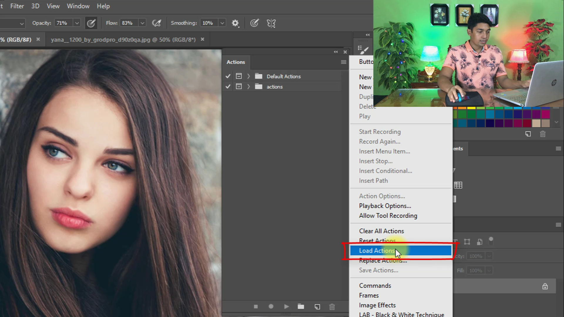 Digital Painting Free Photoshop Actions