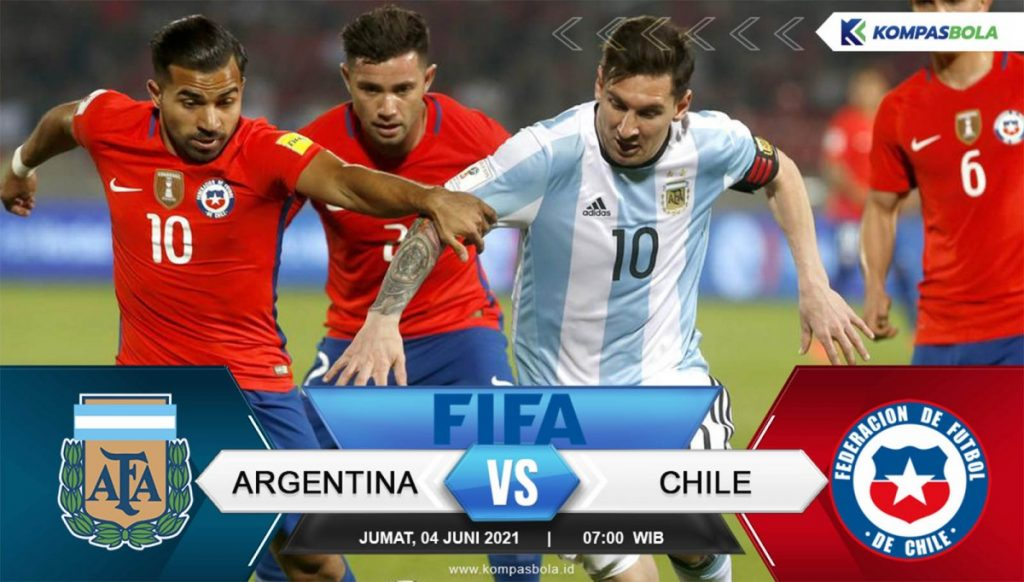 Argentina vs Chile 2021 world cup qualifying Live Where to watch