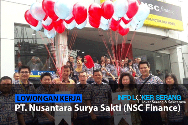 Lowongan Kerja Supervisor Marketing Agen, Marketing/Counter NSC Finance Kragilan Serang