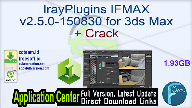 IrayPlugins IFMAX v2.5.0-150830 for 3ds Max + Crack_ ZcTeam.id