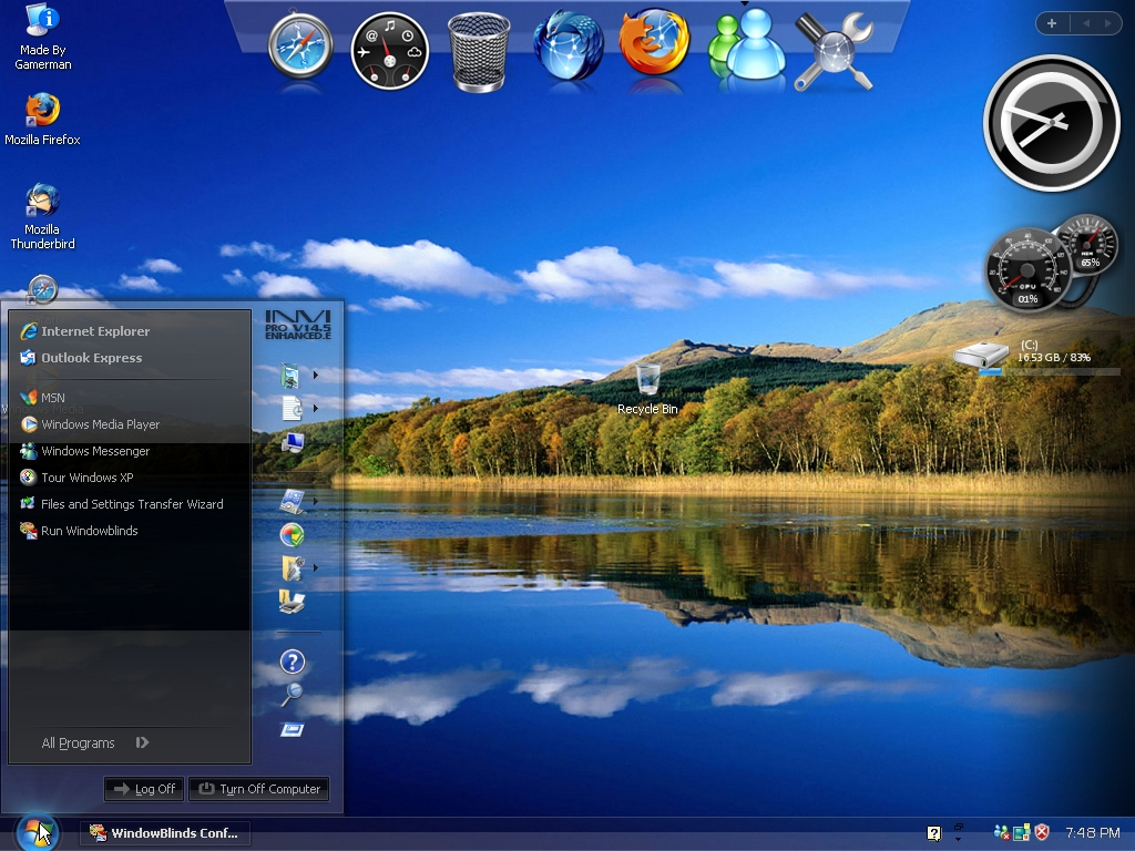 Windows Xp Sevice Pack 3 Black Edition 32 Bit ~ Hacker ...