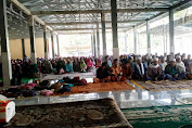 Ribuan Jama'ah dan Puluhan Tuan Guru Do'akan Pathul-Nursiah Menang