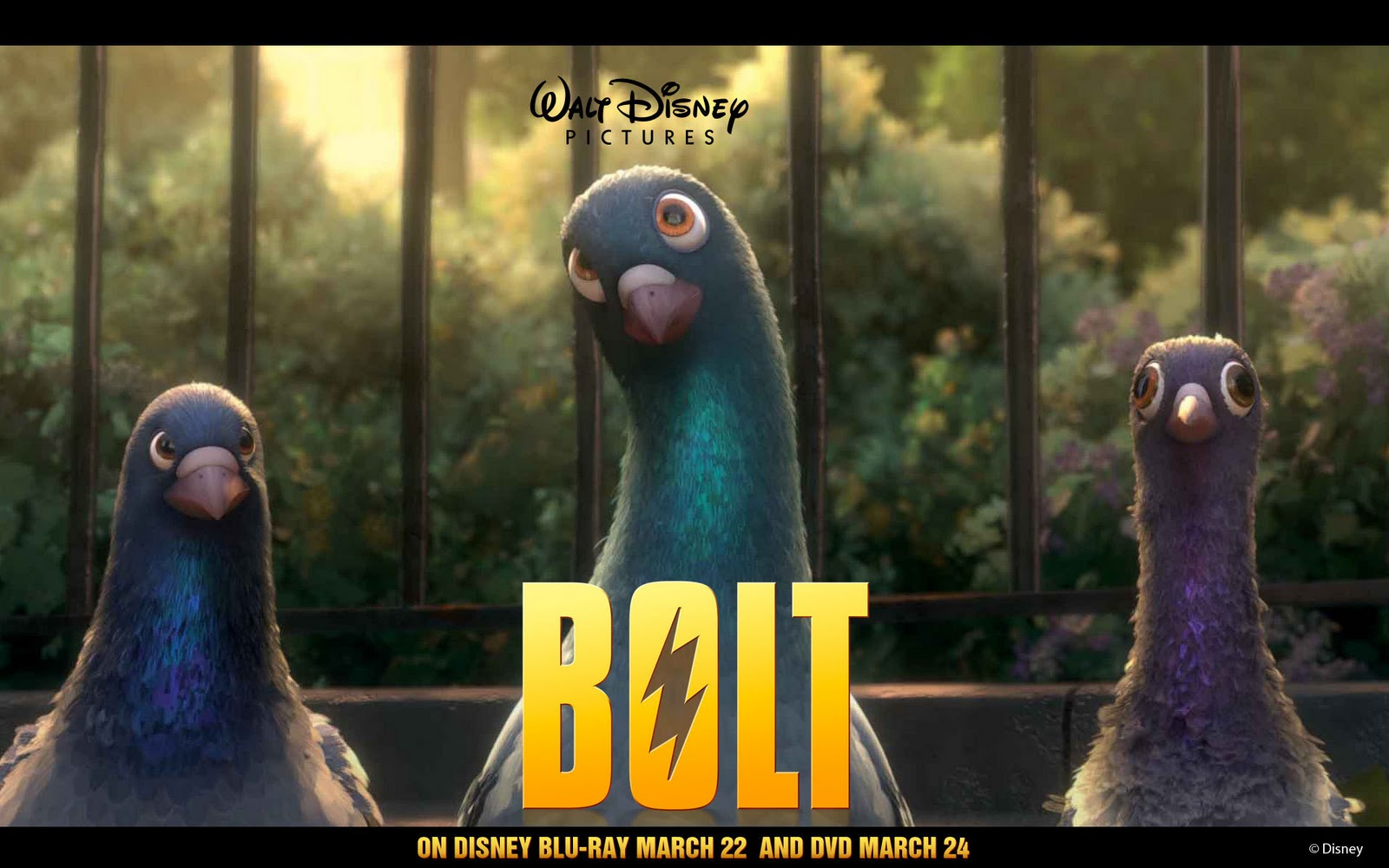 New Ram Truck >> CARTOONS: Bolt movie posters and wallpaper