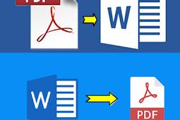 Cara Cepat Convert PDF ke Word dan Word ke PDF