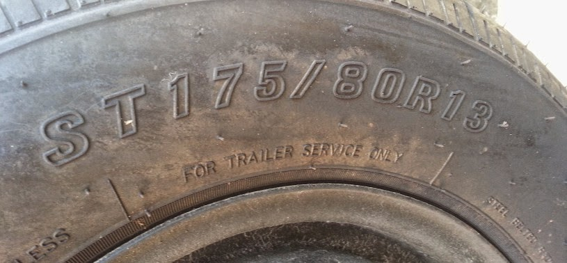 Picture of U-Haul Fiberglass Camper tire size