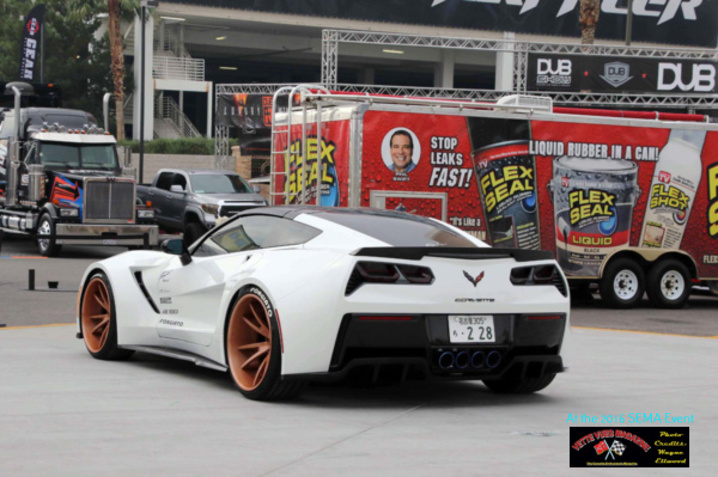 C7 widebody Corvette designed by TS Designs