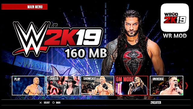 Download Wwe 2k19 Game Mod For android 160Mb | Mod In