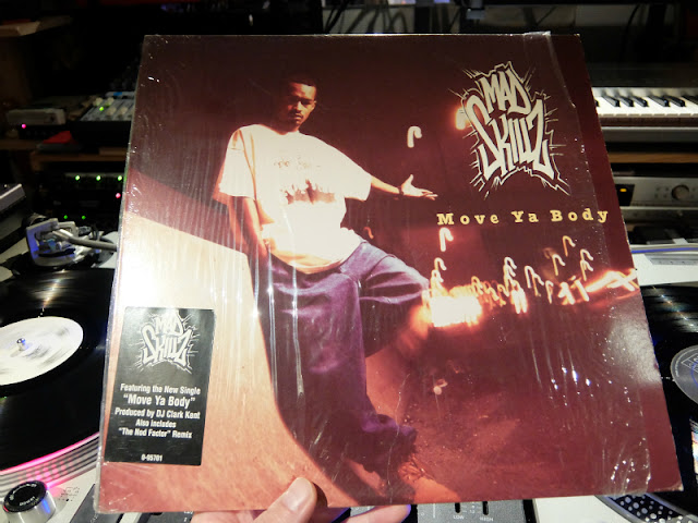 Move Ya Body / Mad Skillzのレコードです。
