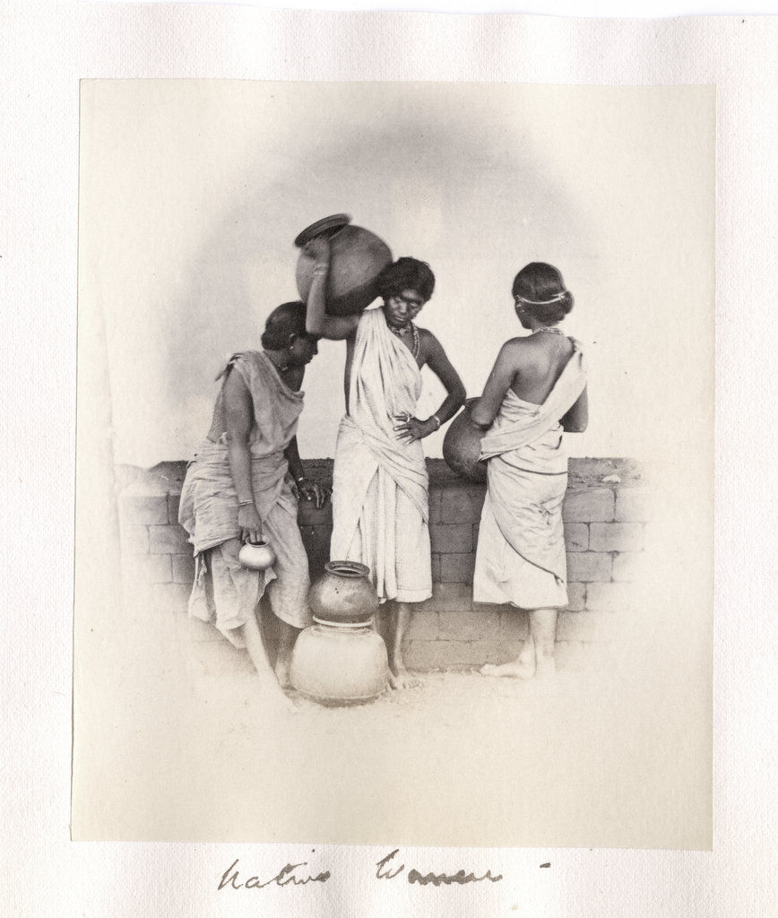 Three Native Women - India, Circa 1880's