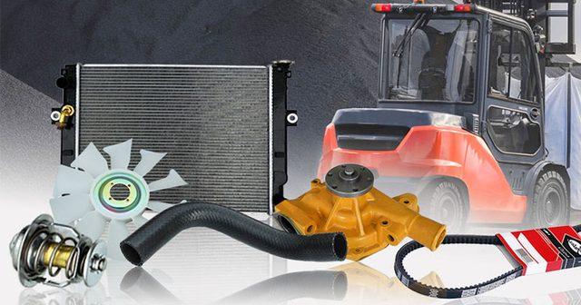 Toyota Forklift Cooling Parts