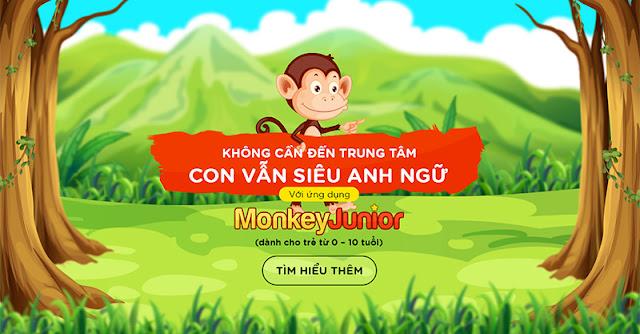 Review Phần Mềm Học Tiếng Anh Cho Bé Monkey Junior - Học Vừa Chơi Chuẩn Quốc Tế Ngay Tại Nhà