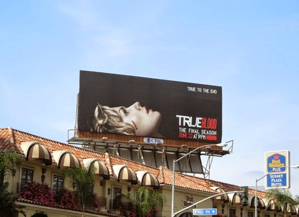 True Blood season 7 billboard