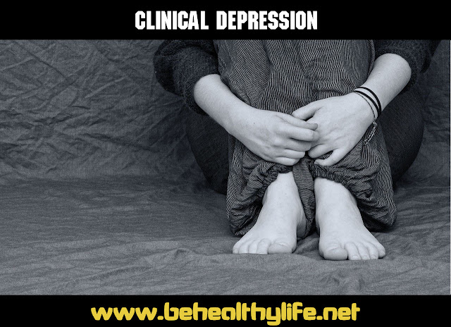 Clinical Depression: Can a healthy lifestyle help?