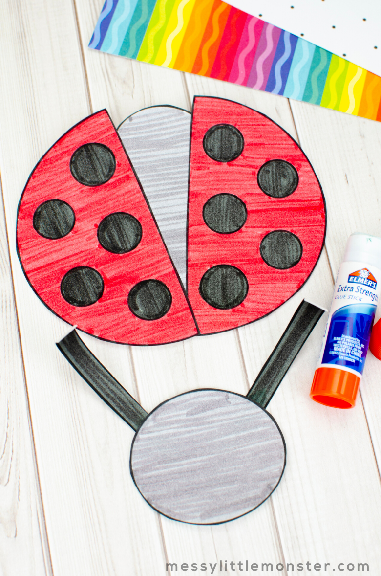ladybug bug craft for kids