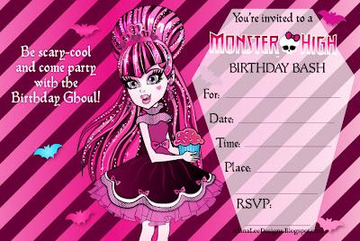 Birthday Party Invitation Templates Free On Printable Invitations