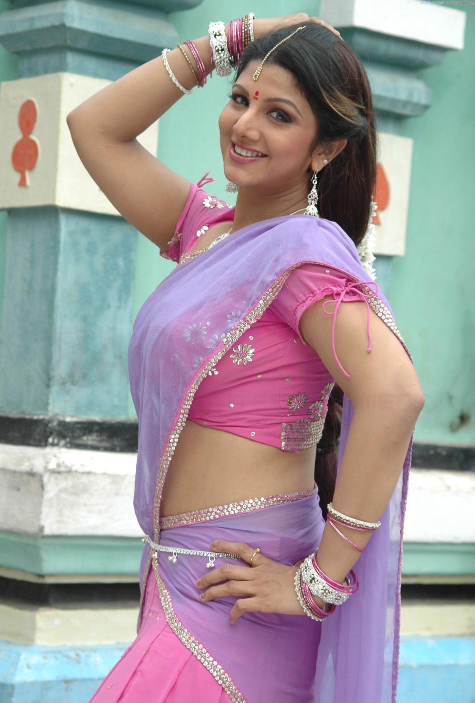 Telugu actress sexy ramba back again with new hot looks