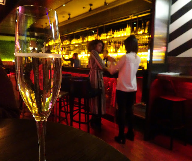 Glass of Prosecco at Be At One