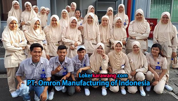Lowongan Kerja PT. Omron Manufacturing of Indonesia (OMI) - EJIP Cikarang Juni 2018