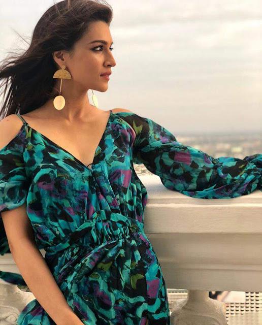 Gorgeous Kriti Sanon Latest Hot Photoshoot Pics Navel Queens