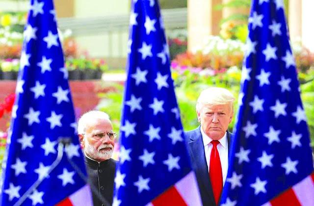 Căng thẳng biên giới với Trung Quốc đẩy Ấn Độ về phía Mỹ