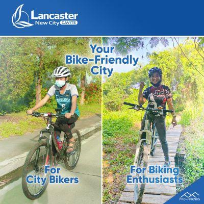 Lancaster New City is a bike friendly community