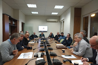 Σύσκεψη στο Επιμελητήριο Καστοριάς με θέμα την Οικονομική κατάσταση Π.Ε. Καστοριάς.