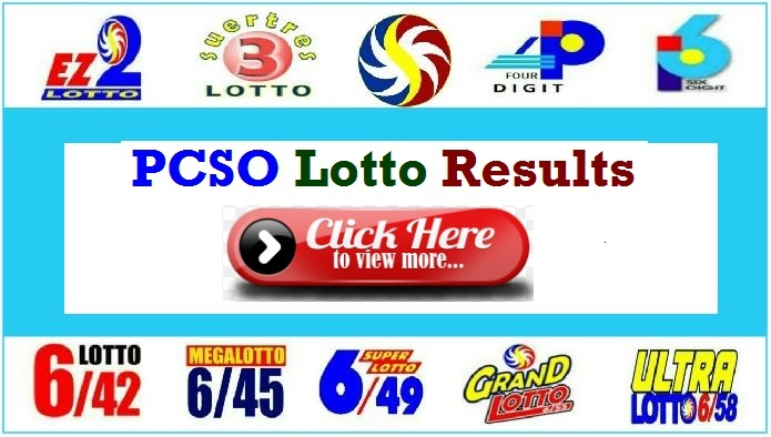 PCSO Lotto Result April 22, 2020