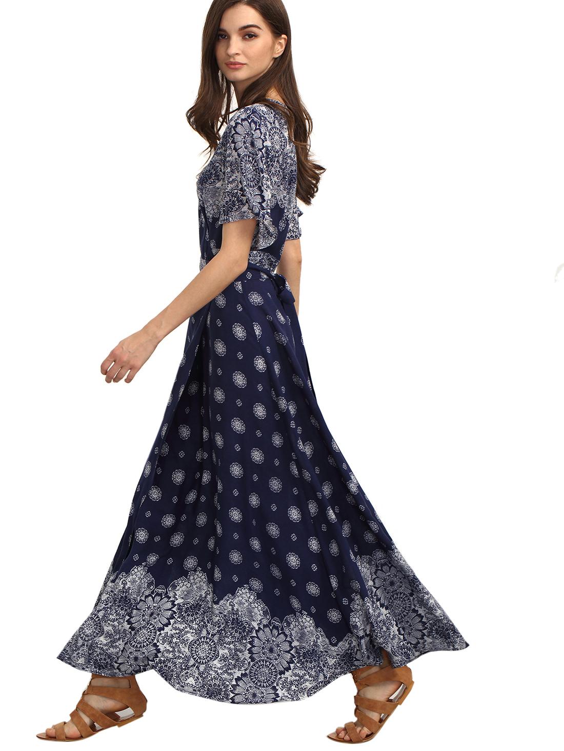c562f295cd4b casual wear, beach, boho clothing, maxi. Find it at https://www.amazon.com/ Floerns-Womens-Bohemian-Sleeve-Vintage/dp/B01HO4LUTY/ref