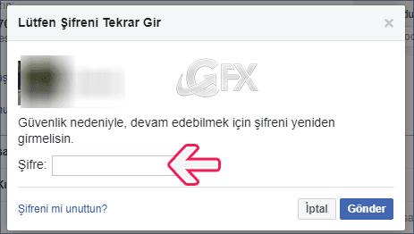 Facebook'tan telefon numarasını kaldırma -www.ceofix.com