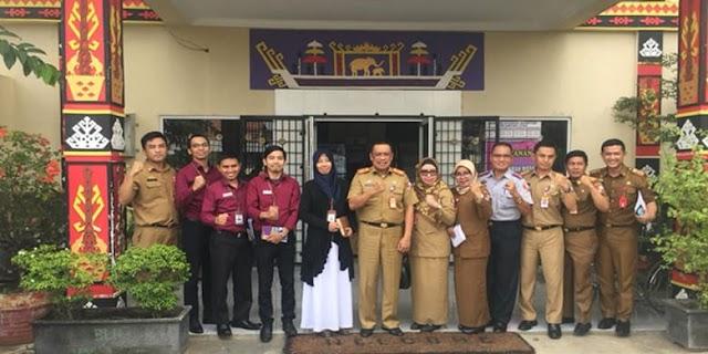 Ombudsman Lampung memberikan pengarahan dan pendampingan tentang Penyelenggaraan Standar Pelayanan Publik Pemkab Lampura