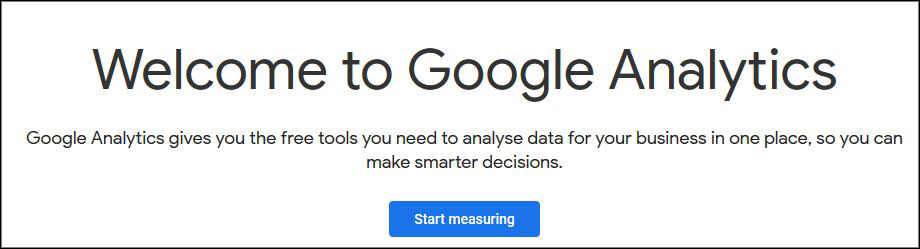 how to sign up in google analytics